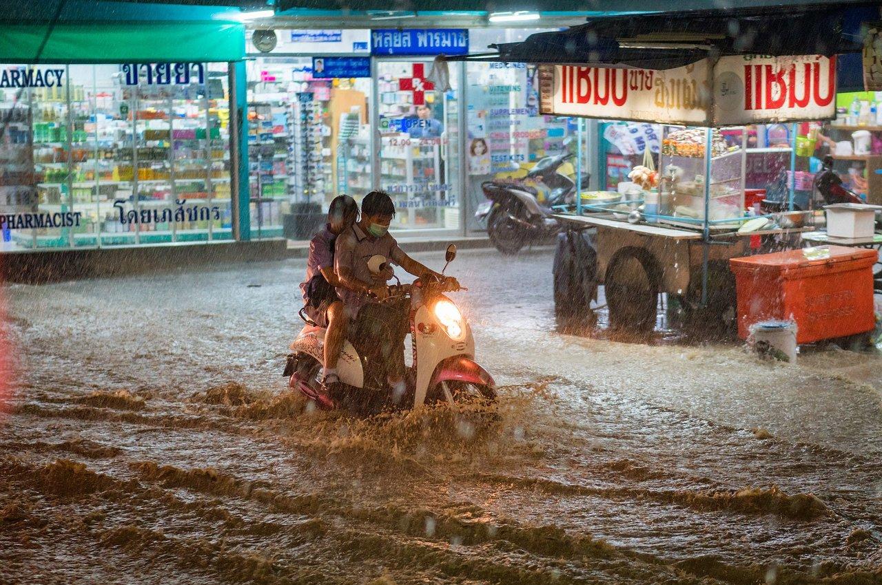 lietus sezona taizemē