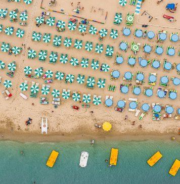 rimini, itālija, avio ceļojums uz rimini, rimini pludmale