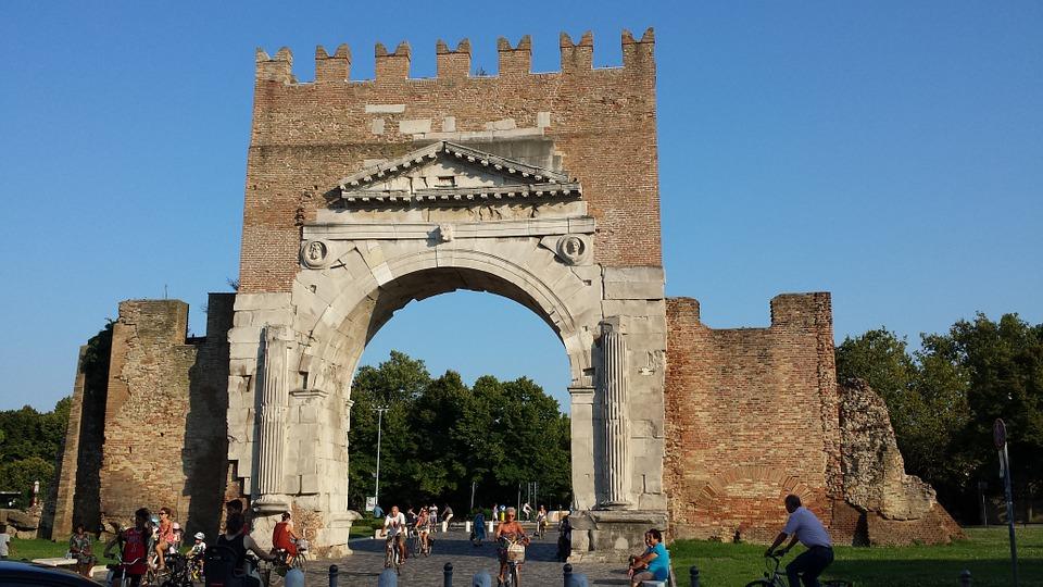 rimini, itālija, ceļojums uz itāliju