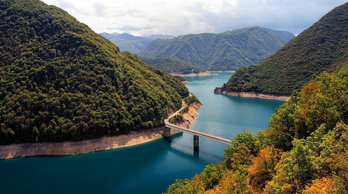 Skadaras ezers, melnkalne