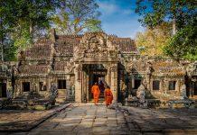 angkor wat, kabodža, cambodia