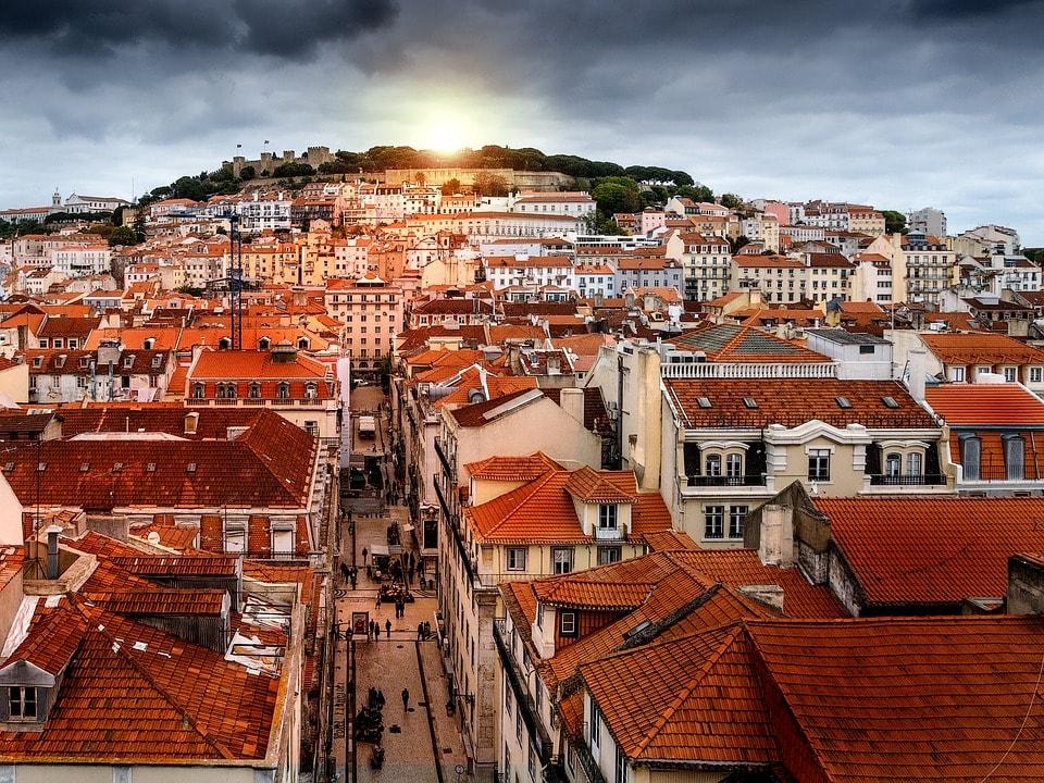 algarve, portugāle