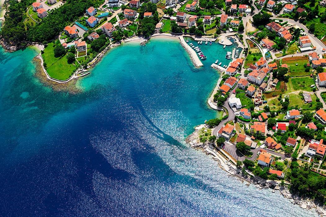 horvātija, krk sala, baska