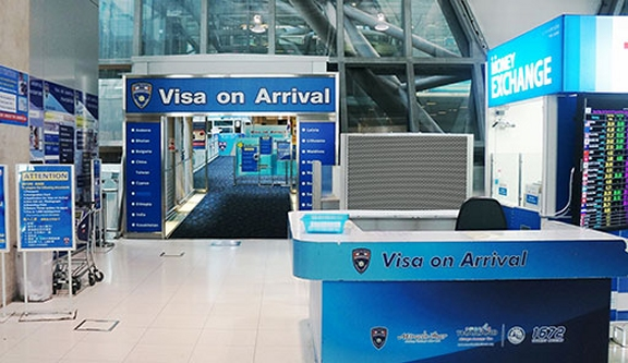 vīza taizemes lidostā, taizeme,