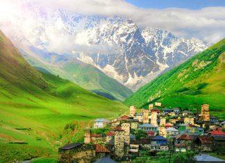 ushguli, georgia, gruzija, ušguļi