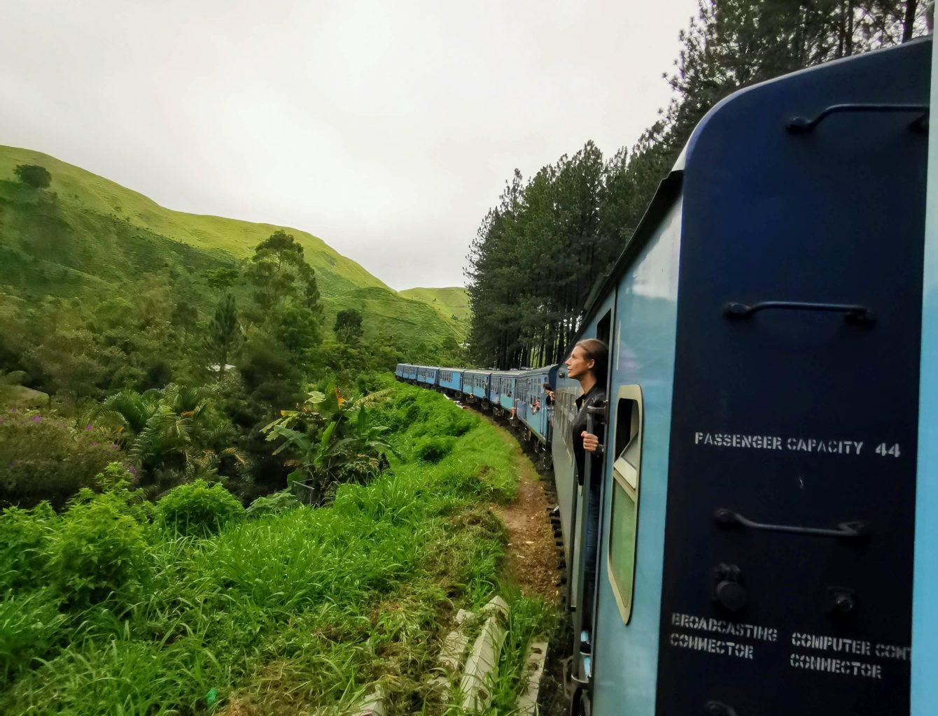 vilciens šrilankā, train srilanka, поезд шриланка
