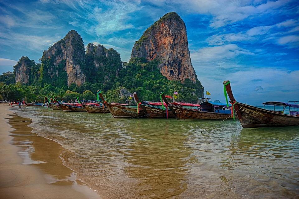 krabi, taizeme, thailand
