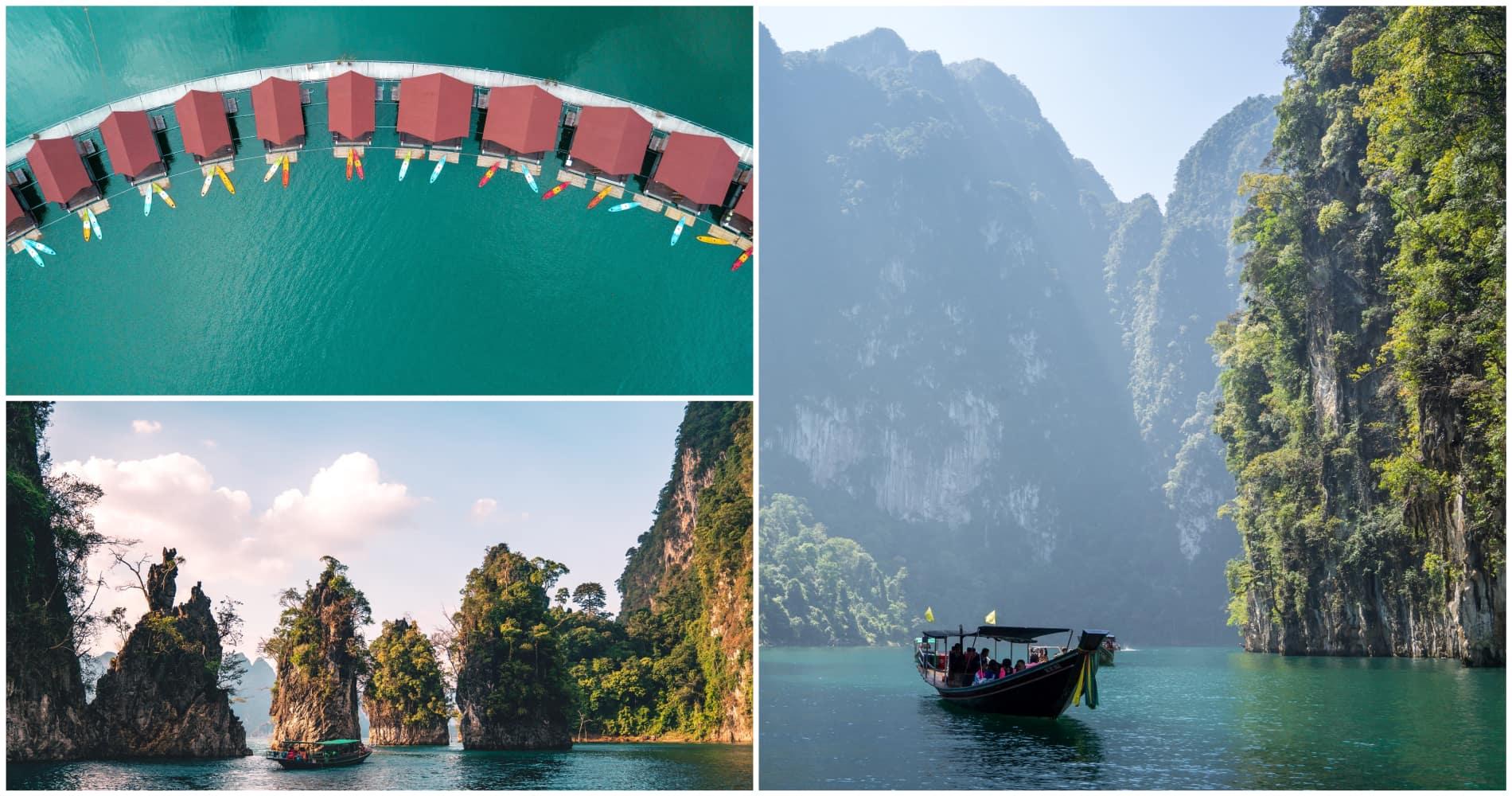 khao sok, thailand, taizeme, kao sok nacionālais parks, cheow lan, čeo lan ezers