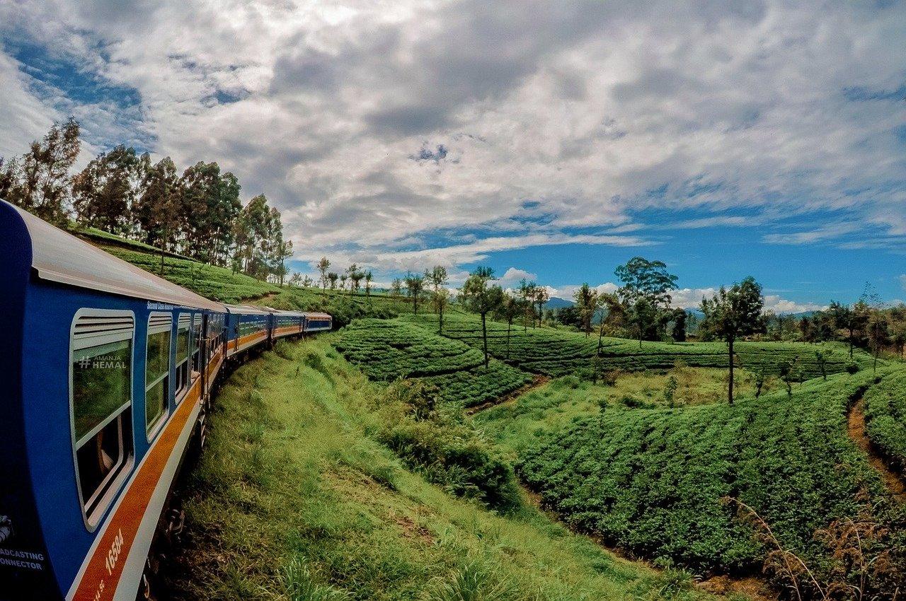 Vilciens Šrilankā