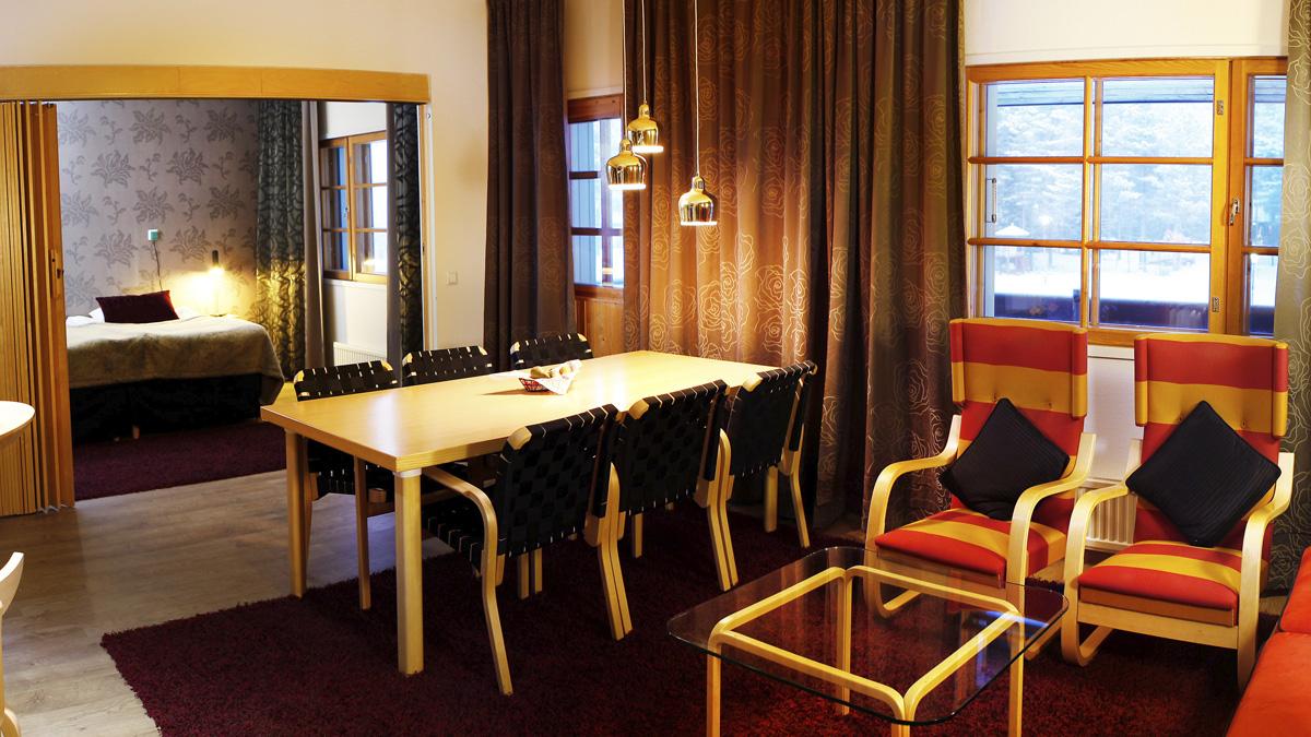 levi hotel spa sammal suite